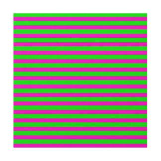 power stripes neon (C) Wood Print