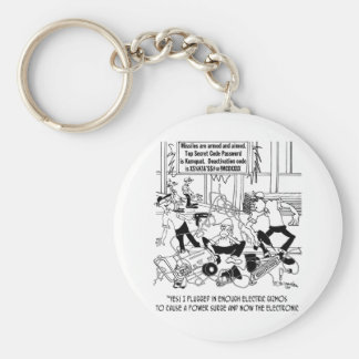Power Surge Cartoon 7308 Key Ring