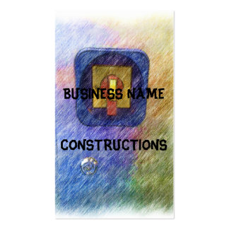 Power Switch Business Card Templates