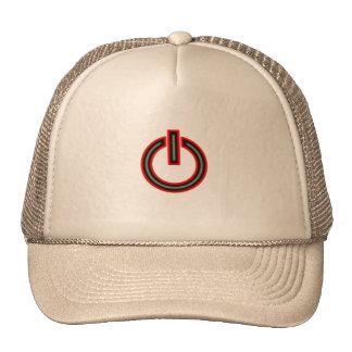 Power Symbol Mesh Hats
