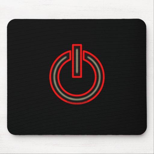 Power Symbol Mouse Mats