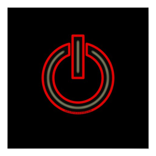 Power Symbol Posters