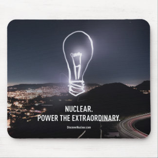 Power the Extraordinary Bulb Mousepad
