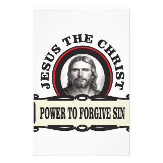 power to forgive sin jc stationery