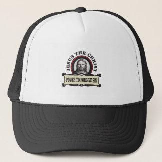 power to forgive sin jc trucker hat
