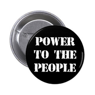 Power to the People 6 Cm Round Badge