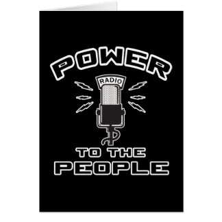 Power to The People Card
