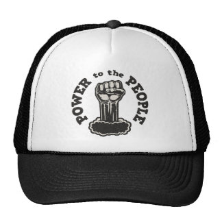Power to the People Trucker Hat