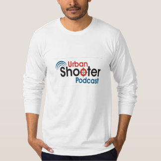 Power To The People Urban Shooter Podcast LS T-Shirt