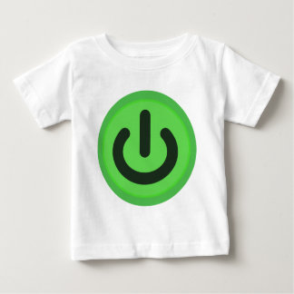 Power Toggle Button Baby T-Shirt