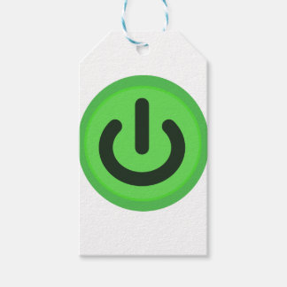 Power Toggle Button Gift Tags