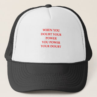 POWER TRUCKER HAT