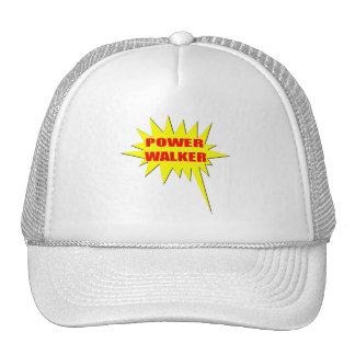 Power Walker Trucker Hats