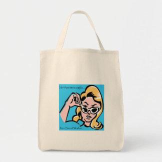 Power Woman Tote Bag
