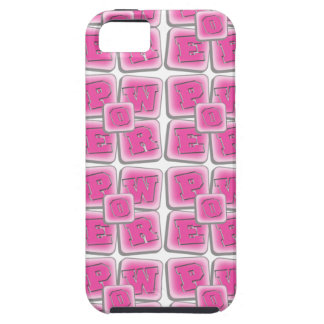 POWER WORD GIRL PINK iPhone 5 COVERS