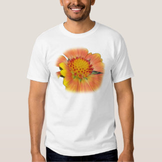 Power Yellow Blanket Flower Shirt