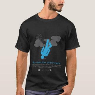 Power Yoga: B-Boy Head Pose (B-Shirsasana) T-Shirt