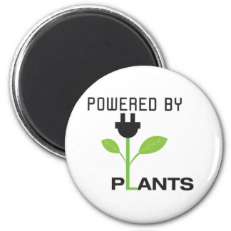 POWERD BY PLANTS MAGNET