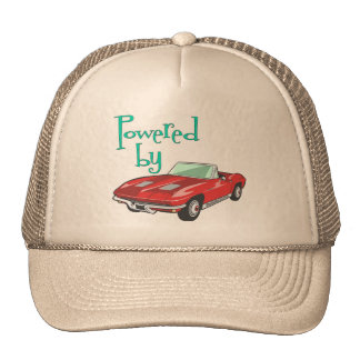 Powered By A Red Convertible Cap