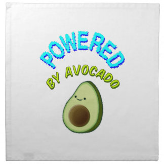 Powered By Avocado Napkin