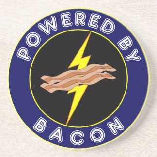 Powered By Bacon Coaster