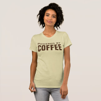 Powered by Coffee Funny T-Shirt