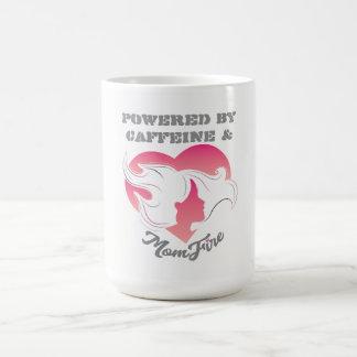 Powered by Coffee & MomFire Mug