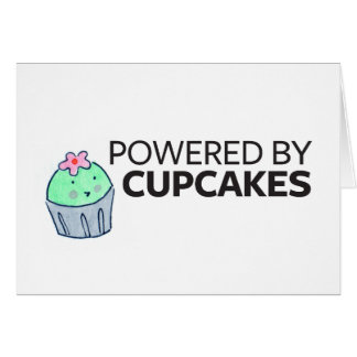Powered by Cupcakes Card