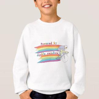 Powered By Double Rainbow Sweatshirt