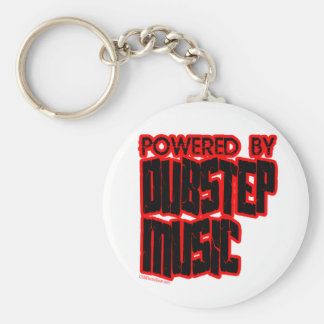 powered by DUBSTEP music Key Ring