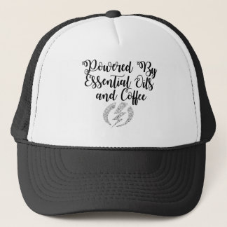 Powered By Essential Oils and Coffee Hat