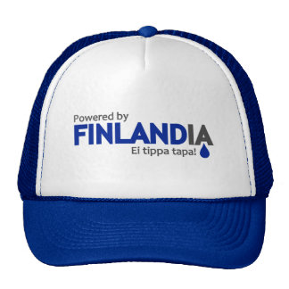 Powered by Finlandia hat - choose color