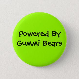 Powered By, Gummi Bears 6 Cm Round Badge