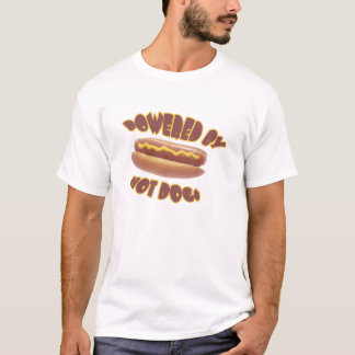 Powered By Hot Dogs T-Shirt