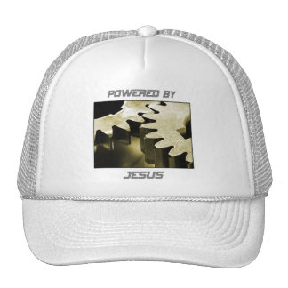 Powered By Jesus Mesh Hat