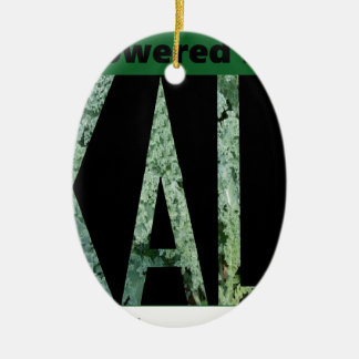 Powered by KALE Ceramic Oval Decoration