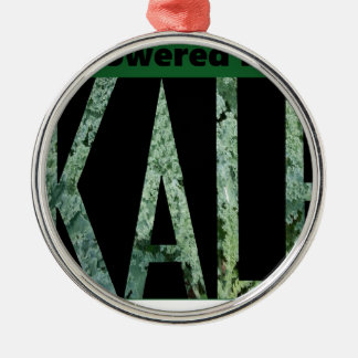 Powered by KALE Silver-Colored Round Decoration