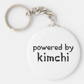 POWERED BY KIMCHI BASIC ROUND BUTTON KEY RING