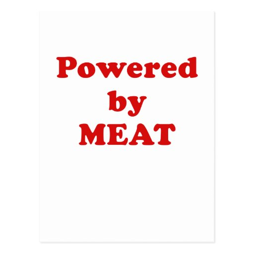 Powered by Meat Postcard