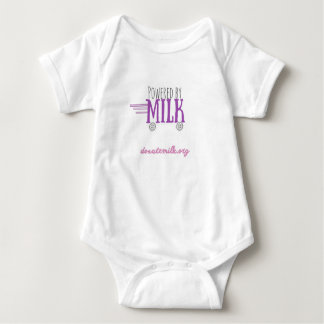 Powered by Milk Baby Bodysuit