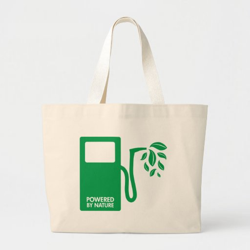 Powered by Nature Biofuel Tote Bags