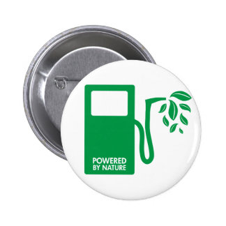 Powered by Nature Biofuel Pin