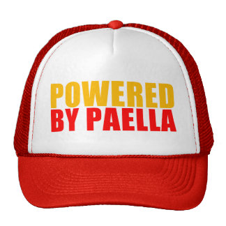 Powered by Paella Mesh Hat