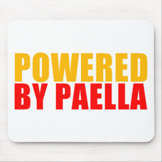 Powered by Paella Mouse Pad