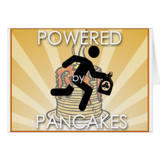 Powered by Pancakes (hygge power!) Card