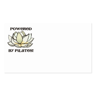Powered By Pilates Lotus Pack Of Standard Business Cards