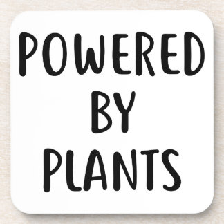 Powered By Plants Coaster