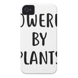 Powered By Plants iPhone 4 Case