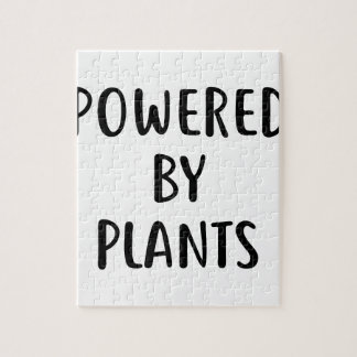 Powered By Plants Jigsaw Puzzle