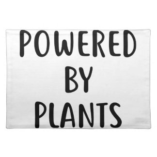 Powered By Plants Placemat